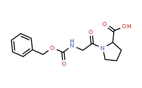 1-(2-(((Benzyloxy)carbonyl)amino)acetyl)pyrrolidine-2-carboxylic acid