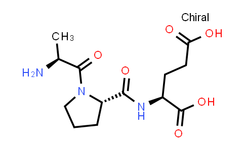 (S)-2-((S)-1-((S)-2-Aminopropanoyl)pyrrolidine-2-carboxamido)pentanedioic acid