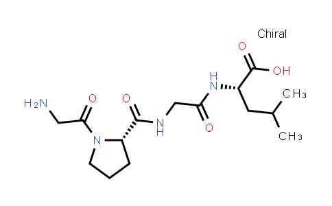 (S)-2-(2-((S)-1-(2-Aminoacetyl)pyrrolidine-2-carboxamido)acetamido)-4-methylpentanoic acid