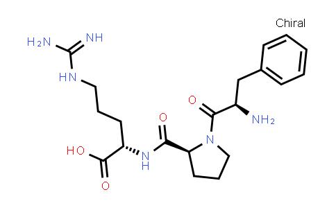 (S)-2-((S)-1-((R)-2-Amino-3-phenylpropanoyl)pyrrolidine-2-carboxamido)-5-guanidinopentanoic acid