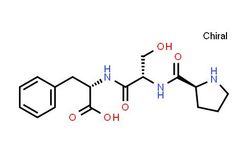 (S)-2-((S)-3-Hydroxy-2-((S)-pyrrolidine-2-carboxamido)propanamido)-3-phenylpropanoic acid