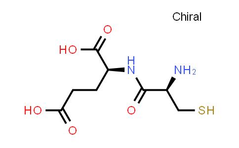 (S)-2-((R)-2-Amino-3-mercaptopropanamido)pentanedioic acid