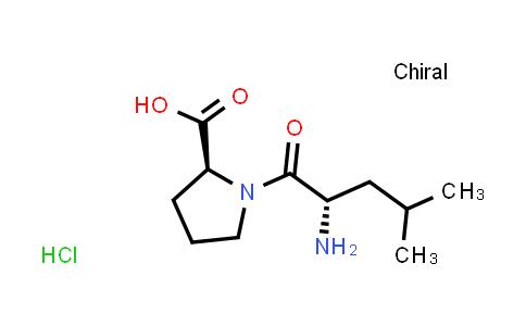 (S)-1-((S)-2-Amino-4-methylpentanoyl)pyrrolidine-2-carboxylic acid hydrochloride