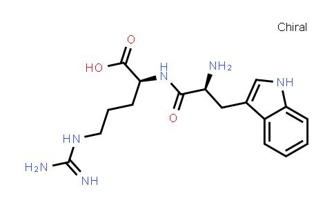 (S)-2-((S)-2-Amino-3-(1H-indol-3-yl)propanamido)-5-guanidinopentanoic acid
