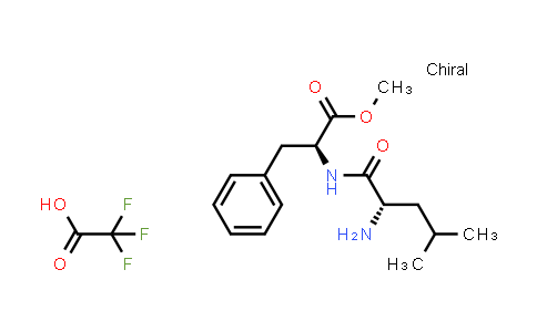 (S)-Methyl 2-((S)-2-amino-4-methylpentanamido)-3-phenylpropanoate 2,2,2-trifluoroacetate