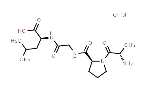 (S)-2-(2-((S)-1-((S)-2-Aminopropanoyl)pyrrolidine-2-carboxamido)acetamido)-4-methylpentanoic acid