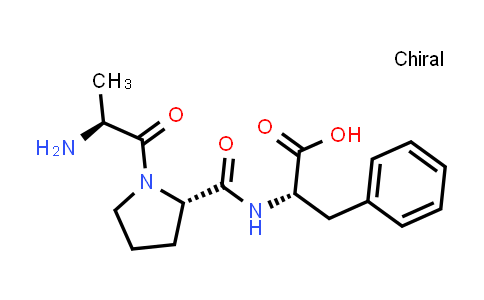 (S)-2-((S)-1-((S)-2-Aminopropanoyl)pyrrolidine-2-carboxamido)-3-phenylpropanoic acid