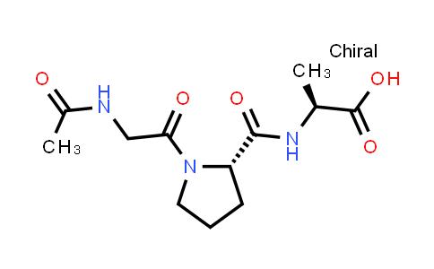 (S)-2-((S)-1-(2-Acetamidoacetyl)pyrrolidine-2-carboxamido)propanoic acid