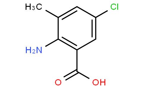 81720 - 2-Amino-5-chloro-3-methylbenzoic acid   CAS 20776-67-4
