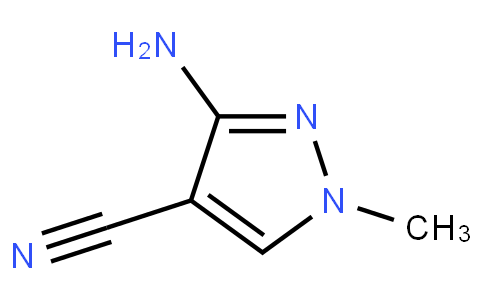 6111001 - 3-aMino-1-Methyl-1H-pyrazole-4-carbonitrile | CAS 21230-50-2