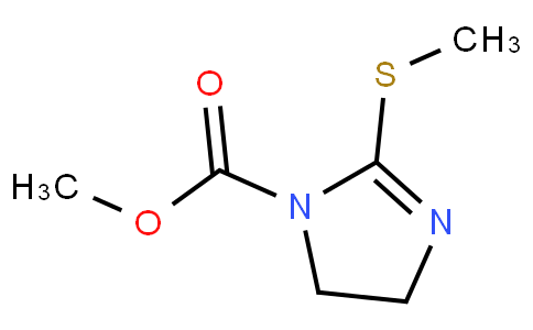 17011907 - 4,5-Dihydro-2-(Methylthio)-1H-iMidazole-1-carboxylic Acid Methyl Ester | CAS 60546-77-2