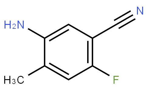 1781603 - 5-amino-2-fluoro-4-methylbenzonitrile | CAS 1426136-04-0