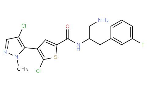 011811 - Afuresertib | CAS 1047644-62-1