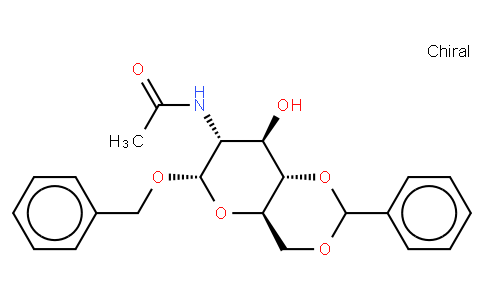 80301 - Benzyl-2-acetamido-4,6-O-benzylidene-2-deoxy-α-D-glucopyranoside | CAS 13343-63-0