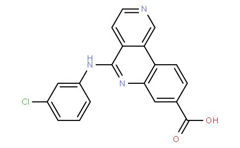 52024 - CX-4945(Silmitasertib) | CAS 1009820-21-6