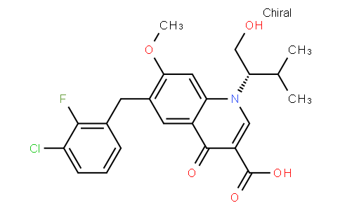 52022 - Elvitegravir(GS-9137) | CAS 697761-98-1