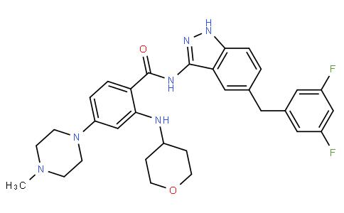 100504 - Entrectinib(RXDX-101) | CAS 1108743-60-7