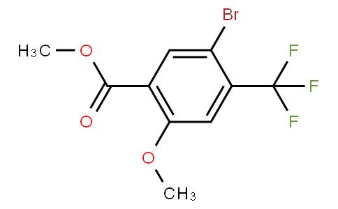 80310 - Methyl 5-bromo-2-methoxy-4-(trifluoromethyl)benzoate   CAS 1131587-97-7