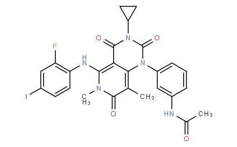 52109 - Trametinib (GSK1120212) | CAS 871700-17-3