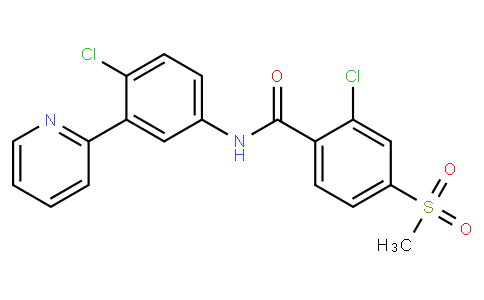 52307 - Vismodegib(GDC-0449) | CAS 879085-55-9