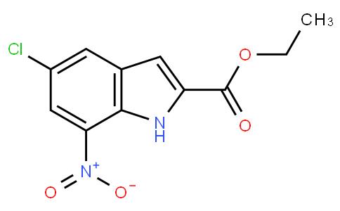 5121008 - ethyl 5-chloro-7-nitro-1H-indole-2-carboxylate | CAS 91119-27-6