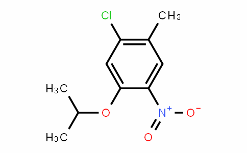 1-氯-5-异丙氧基-2-甲基-4-硝基苯