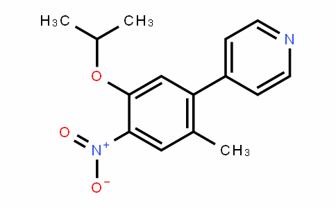 4-(5-isopropoxy-2-Methyl-4-nitrophenyl)pyridine