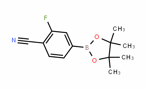 2-Fluoro-4-(4,4,5,5-tetraMethyl-1,3,2-dioxaborolan-2-yl)benzonitrile