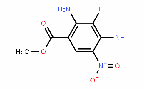 Methyl 2,4-diaMino-3-fluoro-5- nitrobenzoate