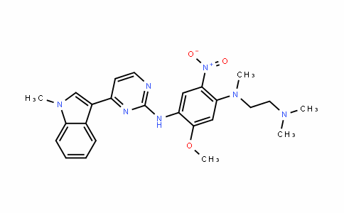 1,4-BenzenediaMine, N1-[2-(diMethylaMino)ethyl]-5-Methoxy-N1-Methyl-N4-[4-(1-Methyl-1H-indol-3-yl)-2-pyriMidinyl]-2-nitro-