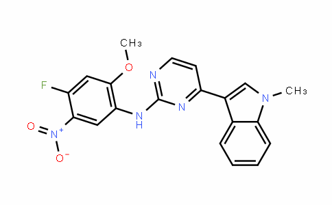 N-(4-fluoro-2-Methoxy-5-nitrophenyl)-4-(1-Methylindol-3-yl)pyriMidin-2-aMine