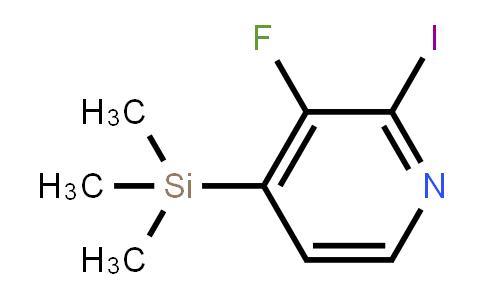 3-Fluoro-2-iodo-4-(trimethylsilyl)pyridine