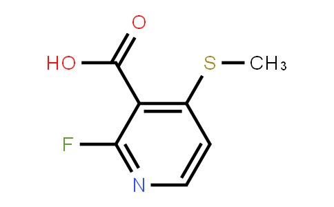 2-Fluoro-4-(methylsulfanyl)pyridine-3-carboxylic acid