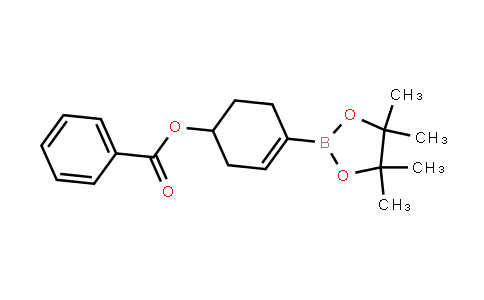 3-Cyclohexen-1-ol, 4-(4,4,5,5-tetramethyl-1,3,2-dioxaborolan-2-yl)-, 1-benzoate