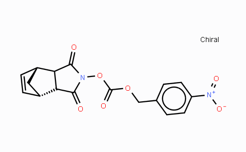 PNZ-ONB 3a,4,7,7a-Tetrahydro-2-[[[(4-nitrophenyl)methoxy]carbonyl]oxy]-4,7-methano-1H-isoindole-1,3(2H)-dione