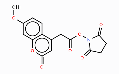 Mca-OSu N-(7-methoxycoumarin-4-acetyloxy)succinimide