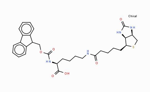 Fmoc-Lys(Biotin)-OH