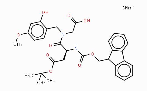Fmoc-Asp(OtBu)-N(Hmb)-Gly-OH