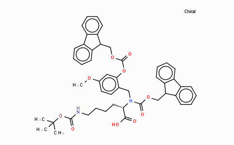 Fmoc-(Fmoc-Hmb)-Lys(Boc)-OH