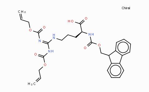 Fmoc-Arg(Alloc)2-OH