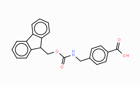 Fmoc-4-Amb-OH Fmoc-(4-aminomethyl) benzoic acid
