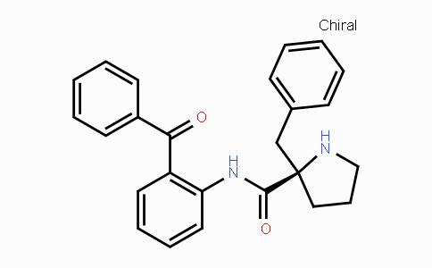 (R)-N-(2-benzoylphenyl)-2-benzyl-prolinamide