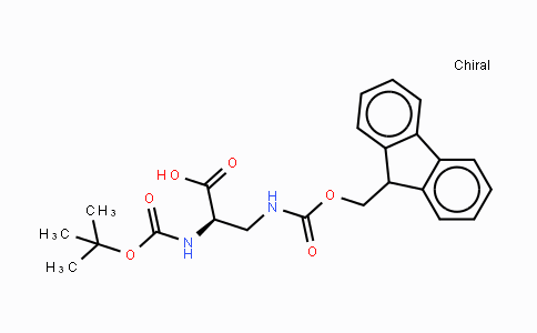 Boc-N3-Fmoc- D-2,3-diaminopropionic acid