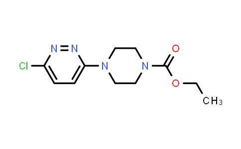 Ethyl 4-(6-chloropyridazin-3-yl)piperazine-1-carboxylate