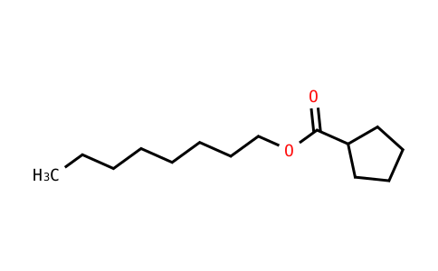 Cyclopentanecarboxylic acid octyl ester