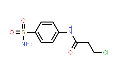 N-[4-(aminosulfonyl)phenyl]-3-chloropropanamide