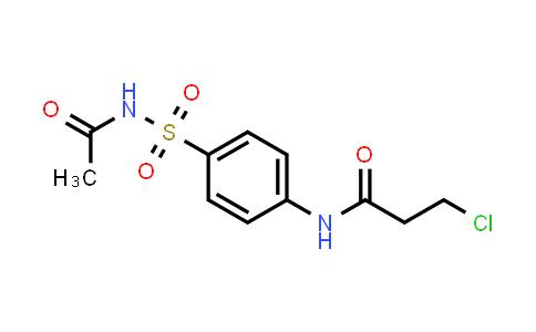 N-{4-[(acetylamino)sulfonyl]-phenyl}-3-chloropropanamide