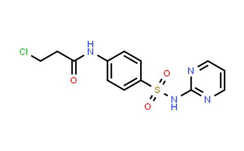 3-Chloro-N-{4-[(pyrimidin-2-ylamino)-sulfonyl]phenyl}propanamide