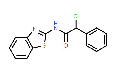 N-1,3-benzothiazol-2-yl-2-chloro-2-phenylacetamide