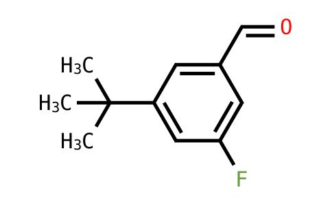 3-tert-Butyl-5-fluorobenzaldehyde